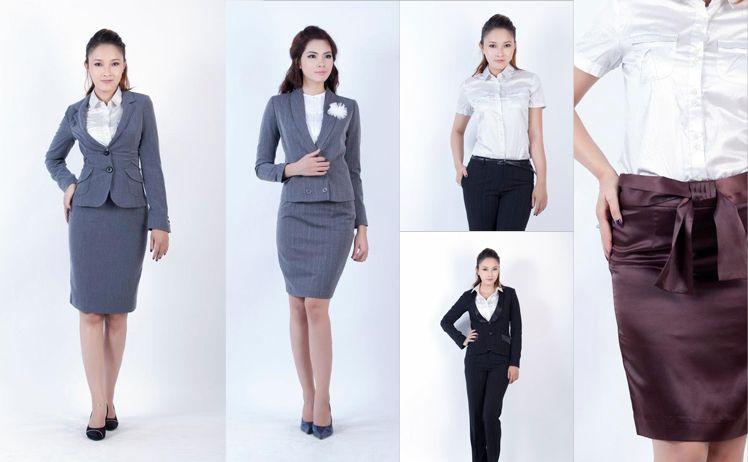 may đo đồng phục vest nữ