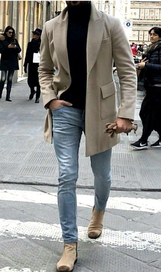 Cách chọn áo khoác măng tô nam đẹp cho mùa đông