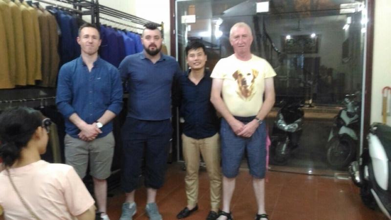 Cửa hàng may veston cho người nước ngoài tại Hà Nội