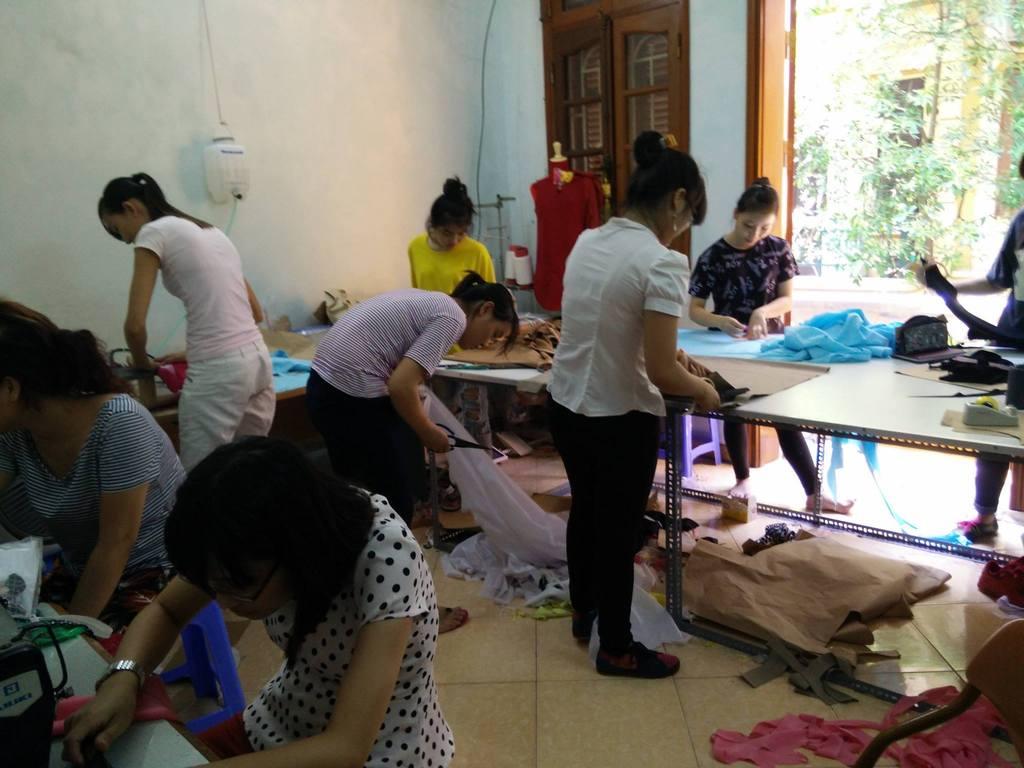 Đào tạo cắt may tại chuyên nghiệp tại Hà Nội