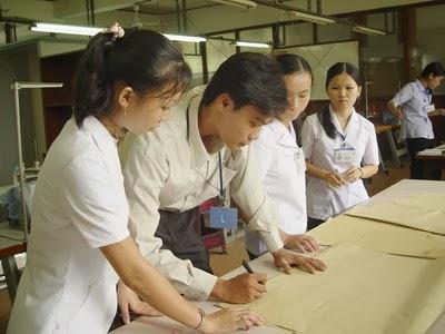 Trung tâm dạy cắt may tại Hà Nội