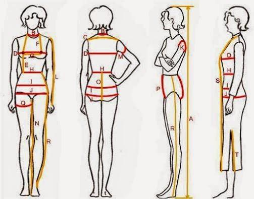Hướng dẫn cách lấy số đo quần,áo,váy chuẩn