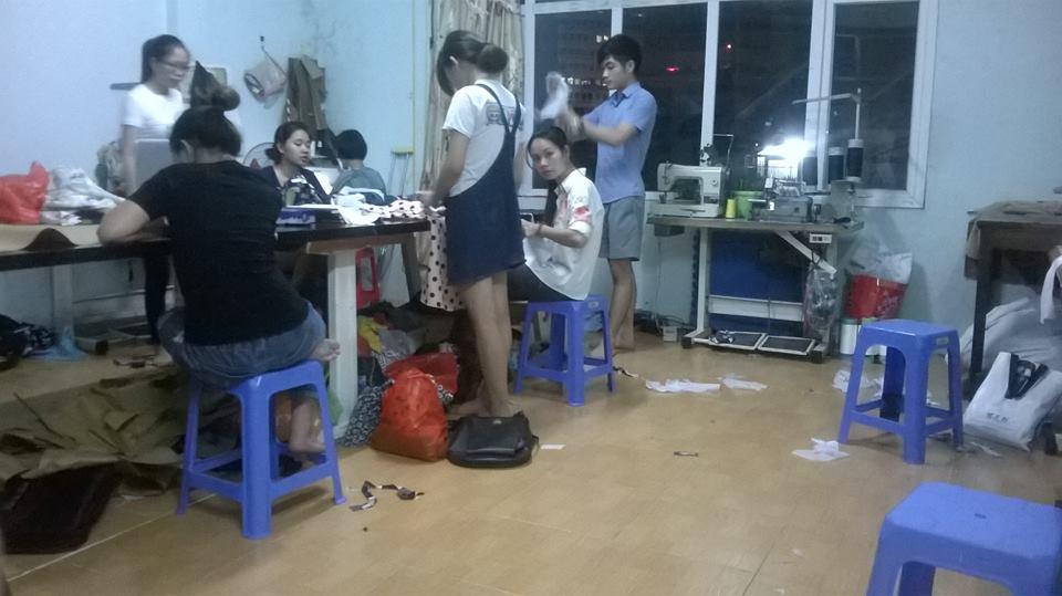 Địa chỉ dạy nghề may tại Hà Nội